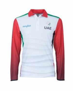 CORPORATE POLO UAE MEYDAN Manica Lunga_Fronte
