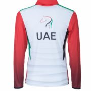 CORPORATE POLO UAE MEYDAN Manica Lunga_Retro